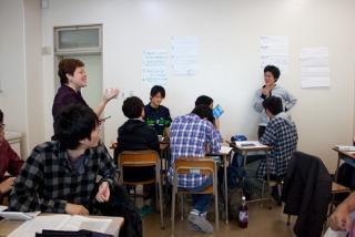 英語による専門科目の授業1