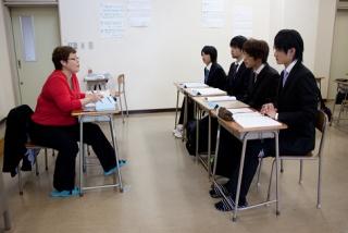 英語による専門科目の授業2