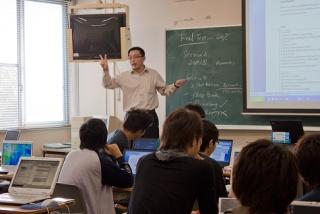 英語による専門科目の授業3